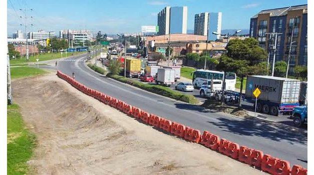 Así se hará la cicloruta temporal de la calle 13 de Bogotá