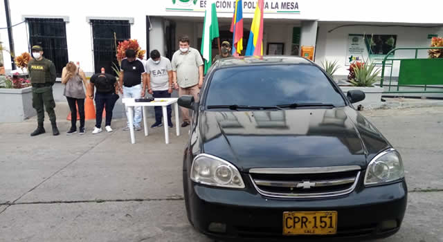 Capturan sujetos por robar información de salud en Cundinamarca
