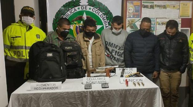 Atrapan banda de asaltantes de fincas en Granada, Cundinamarca
