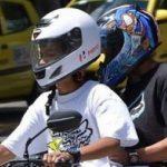 Entra en vigencia nueva norma sobre uso del casco para motos