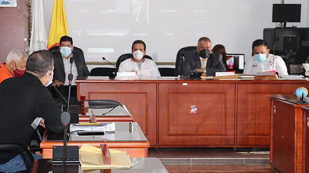 Se instalan primeras sesiones extraordinarias del año en el Concejo de Soacha