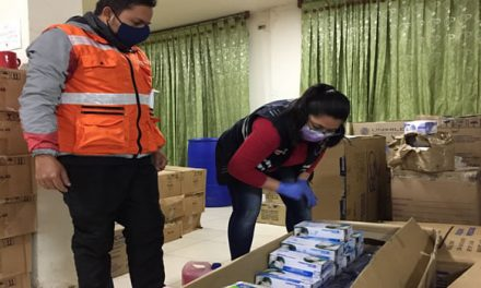 World Vision donó tapabocas y caretas a personal médico de Soacha
