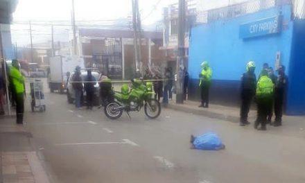 Reportan persona fallecida por accidente de tránsito en el centro de Soacha