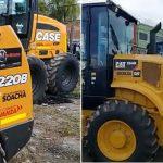 Empezó a llegar la nueva maquinaria amarilla a Soacha
