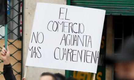 Comerciantes protestarán hoy en Bogotá por toques de queda