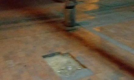 Lo que faltaba, ladrones se robaron un bolardo en Soacha