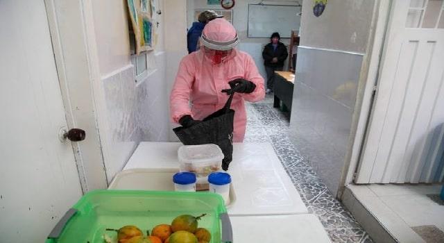 Comedores comunitarios de Bogotá cambian para evitar propagación del Covid-19