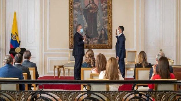 Daniel Palacios es el nuevo ministro del Interior