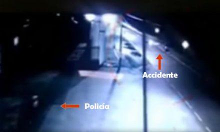 [VIDEO]  Así fue como borracho mató a dos personas en vía a Sibaté