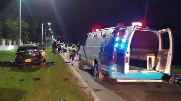 Conductor que causó accidente en vía a Sibaté sí estaba ebrio