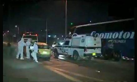 Muere persona en trágico accidente en la autopista Sur de Soacha