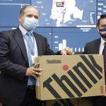 Enviaron 1.344 computadores para fortalecer puestos de vacunación en Cundinamarca