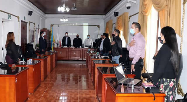 Comenzaron las sesiones extraordinarias en el Concejo de Soacha