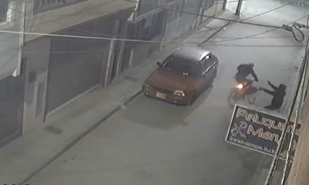[VIDEO] Ladrón dispara tres veces a ciclista por robarle la bicicleta en Soacha