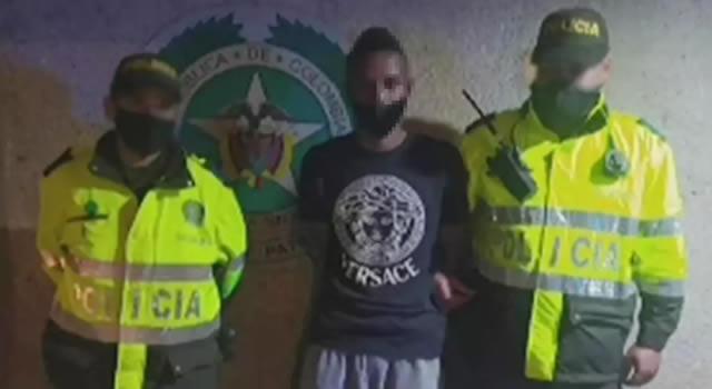Ladrón detenido 8 veces en 2020 fue capturado por atraco a SITP