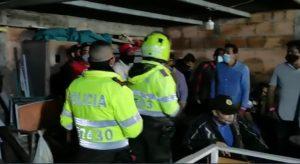 Foto: pantallazo video Policía