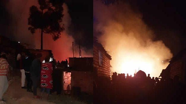 Bomberos de Soacha atendieron incendio en la frontera con Bogotá