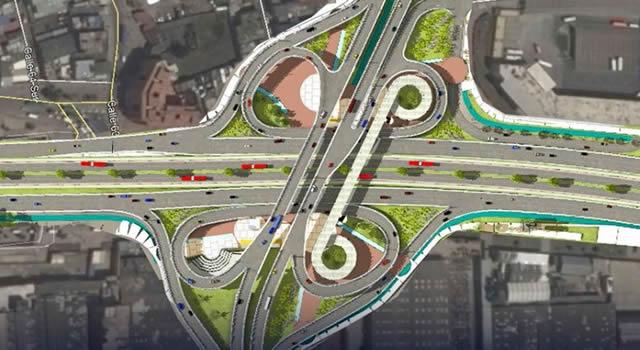 Revive construcción del intercambiador vial que descongestionaría movilidad en Soacha