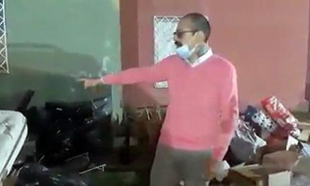 [VIDEO]  A la calle fue lanzada pareja de esposos y su hijo por deber dos meses de arriendo en Soacha