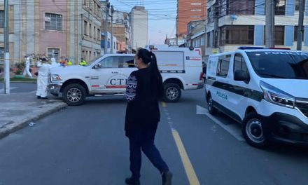 [VIDEO] Balacera en Bogotá deja ladrón muerto luego de hurtar un vehículo