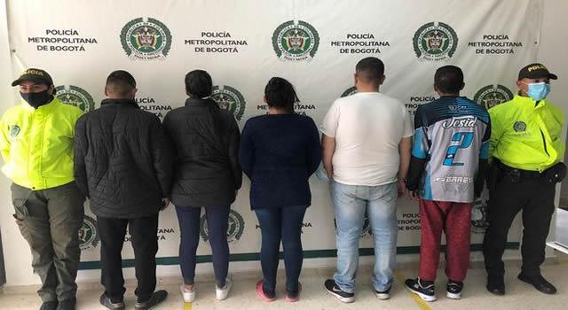 Banda delincuencial dedicada a hurtar pasajeros de Transmilenio fue desarticulada