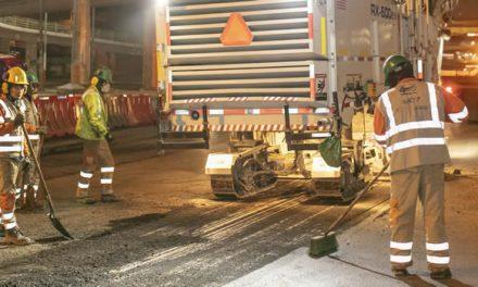 Pilas con el mantenimiento vial en la autopista, sector Despensa Soacha