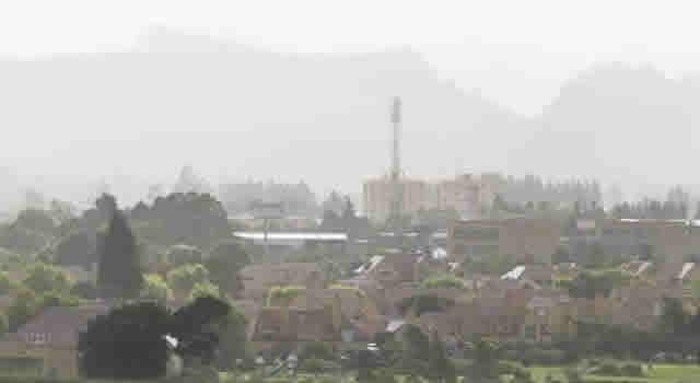 Nube de polvo del Sahara llegaría esta noche a Soacha y Bogotá