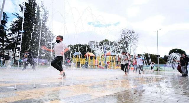 El Parque de los Niños (y las niñas) abre sus puertas en Bogotá