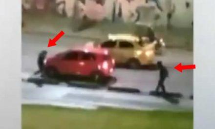 [VIDEO] Este es el lugar donde más espejos de carros roban en Bogotá