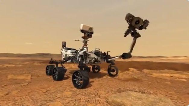 El  18 de febrero  NASA transmitirá en español   el aterrizaje de robot en Marte