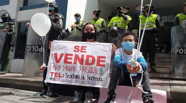 Alza exagerada del impuesto predial también llegó a San Francisco, Cundinamarca