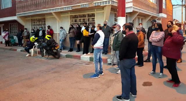 Con patrullajes y frentes de seguridad se combate la delincuencia en barrio de Soacha