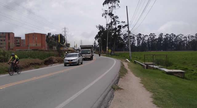 Doble calzada de la vía Indumil de Soacha, 14 meses de promesas