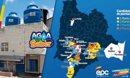 Cundinamarca entregó 55 plantas de agua potable a escuelas rurales