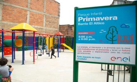 Enel-Codensa construyó y entregó seis parques para la comunidad de Soacha
