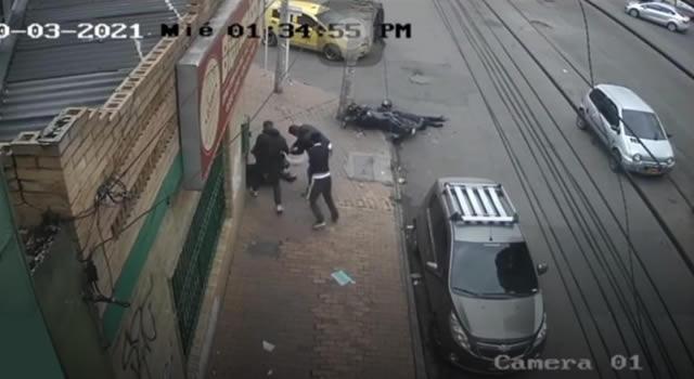 Fiscalía le imputó cargos a hombre que enfrentó a dos fleteros y mató a uno en Bogotá