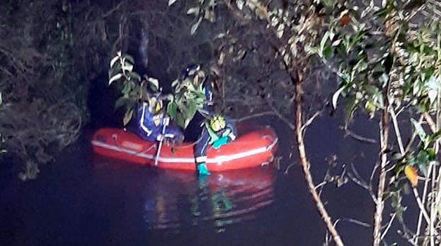 Buscan ladrón en una laguna cerca de Soacha