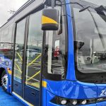Cámaras, wifi y puertos USB, el plus de los nuevos buses eléctricos de Bogotá