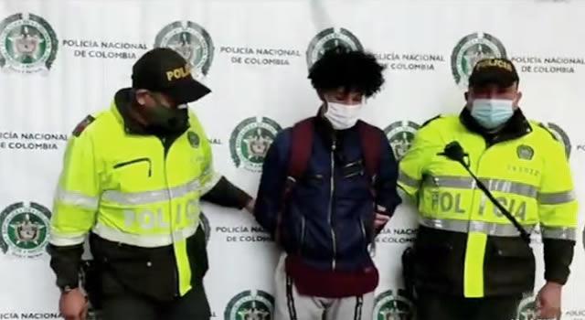 Capturan ciudadano venezolano señalado del atraco y balacera en barrio Las Ferias