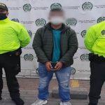 Capturan sujeto por orden judicial en el centro de Soacha