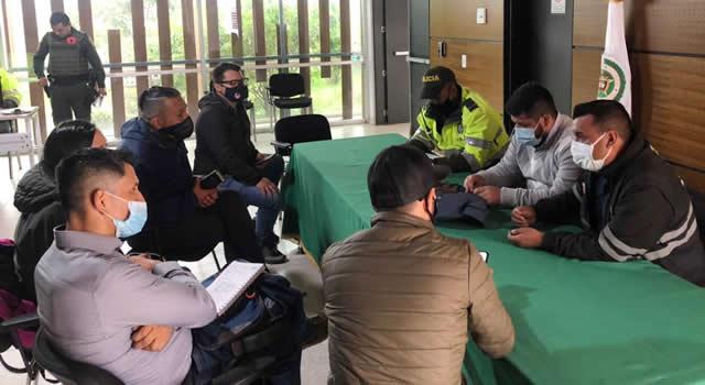 Red de apoyo para evitar robos a biciusuarios en Soacha