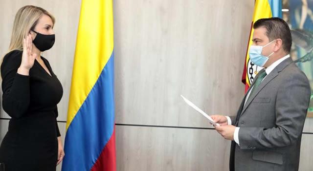 Soachuna Constanza Solórzano es la nueva Secretaria departamental de la mujer