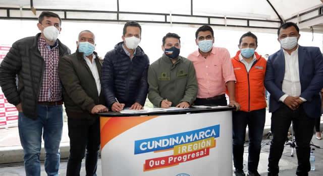 Firman convenio para la construcción del nuevo hospital de Soacha