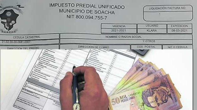 Sigue inconformismo en Soacha por alza en el impuesto predial