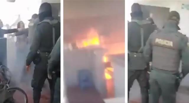 Revelador testimonio de sobreviviente al incendio del CAI San Mateo en Soacha