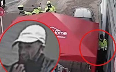 Capturan descarado ladrón que saludó a policías tras hurto en Bogotá