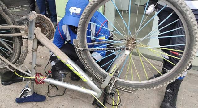 'Marcatón' de bicicletas para mejorar la seguridad en el municipio de Soacha