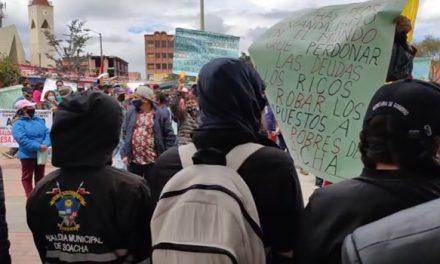 De nuevo dejan plantados a organizadores de marcha contra alza de impuestos en Soacha