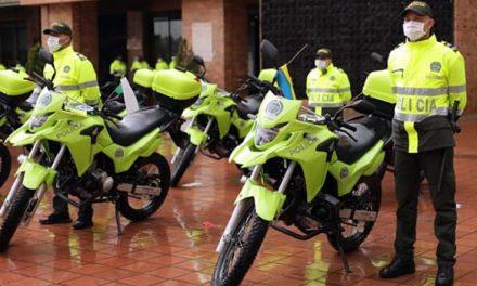 ¿Para qué sirven las motocicletas entregadas a la Policía Nacional en Soacha?