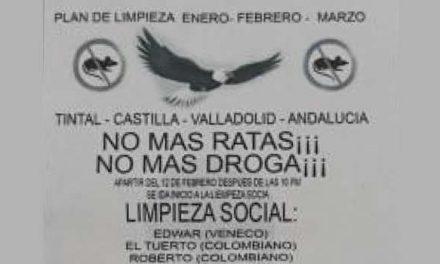 Anuncian plan de 'limpieza social' en algunos barrios de Bogotá